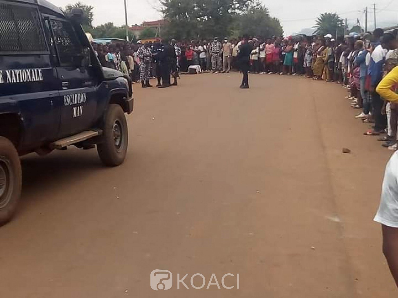 Côte d'Ivoire : A Fakobly un élève décède après son examen, ses amis soupçonnent une pratique mystique et manifestent