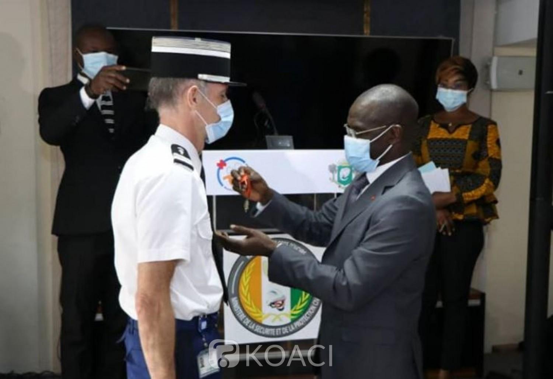 Côte d'Ivoire-France : Le  Colonel Patoux « pierre angulaire » de la coopération franco-ivoirienne dans le domaine de la sécurité en fin de mission