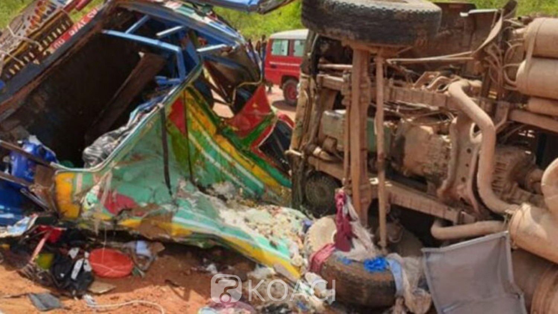 Mali : Une collision fait 22 morts au moins et 21 blessés entre Kangaba et Bancoumana