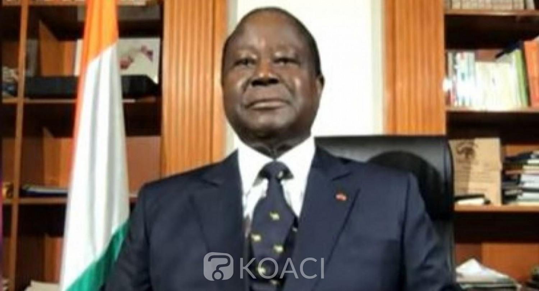Côte d'Ivoire : Présidentielle 2020, Bédié déclare qu'il ne se présente pas pour figurer mais pour gagner avec toutes les forces vives de la nation
