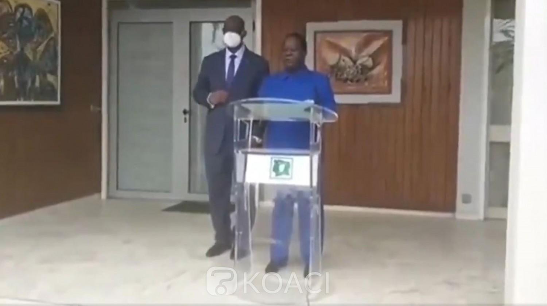 Côte d'Ivoire : Élection présidentielle 2020, élu candidat du PDCI, Bédié nomme Guikahué directeur de campagne