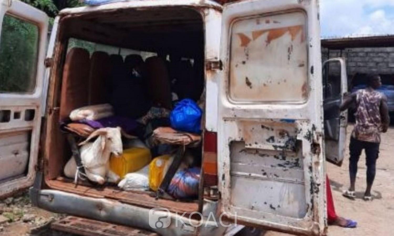 Côte d'Ivoire : Des munitions saisies dans un véhicule de transport en commun au centre
