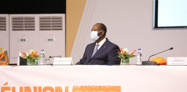 Côte d'Ivoire : Choix du candidat du RHDP suite au décès de Gon, les militants proposent Ouattara, il leur demande de lui laisser « le temps de recueillement »