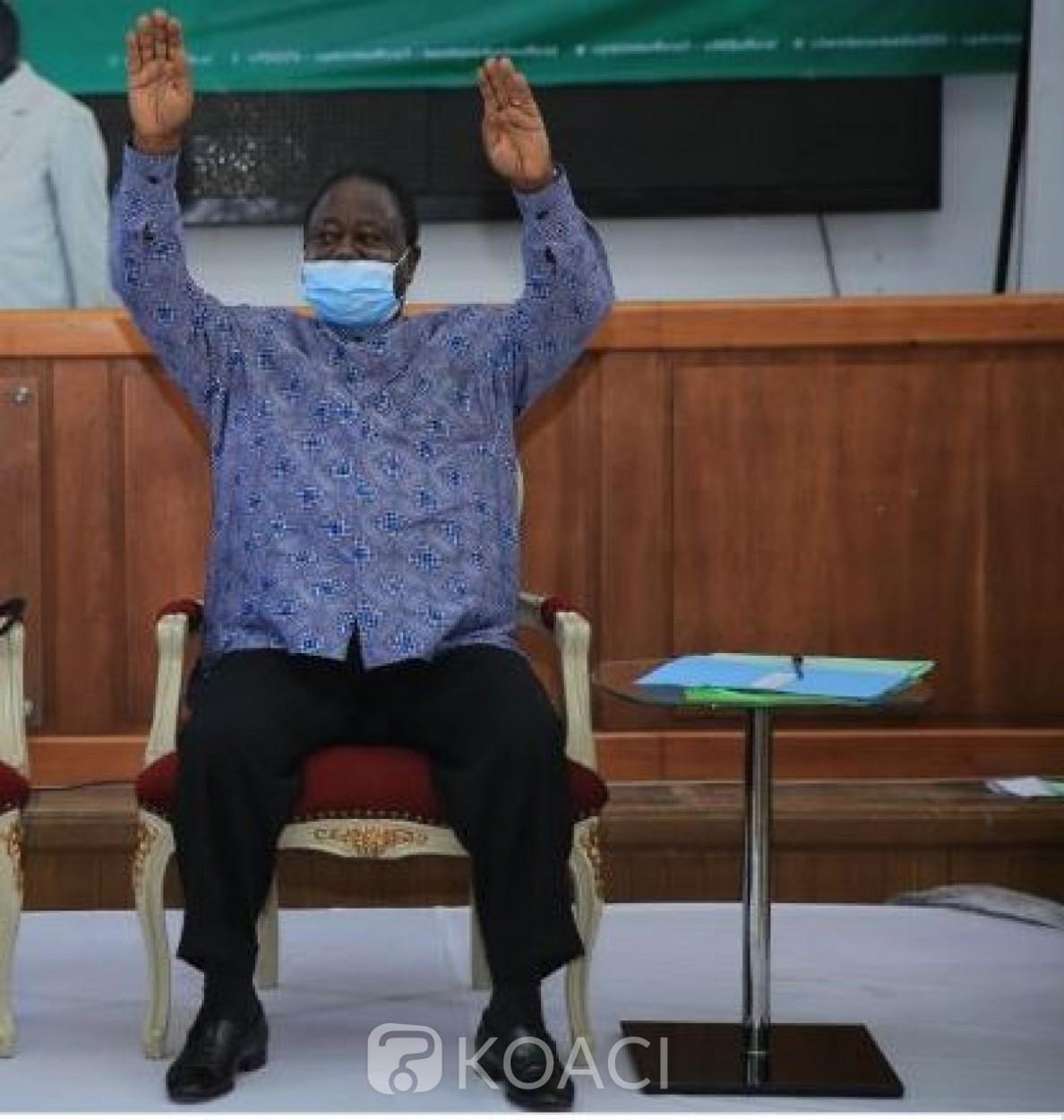 Côte d'Ivoire : Probable candidature ou non de Ouattara, de quel article 185 parle Henri Konan Bédié ?