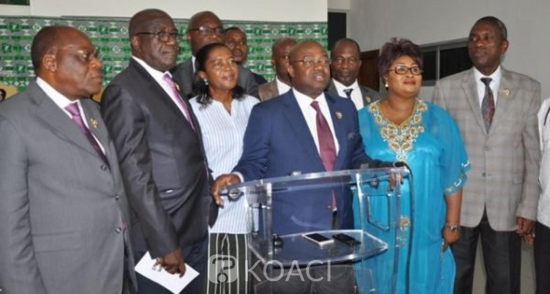 Côte d'Ivoire : Le Groupe parlementaire PDCI-RDA au Sénat «encourage le Chef de l'État à rester vigilant et inflexible face aux tentatives visant à le conduire à une violation flagrante de son serment