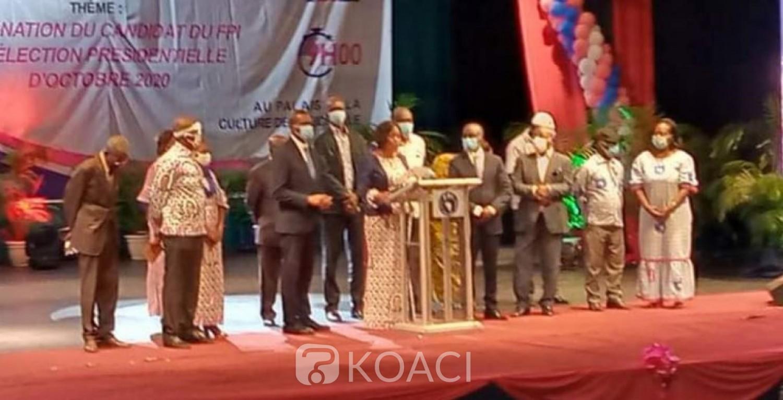 Côte d'Ivoire : FPI, Pascal Affi N'Guessan désigné candidat pour la présidentielle de 2020