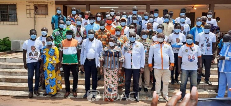 Côte d'Ivoire : Région du Bélier, des secrétaires généraux PDCI et  UDPCI et autres partis se rallient au RHDP