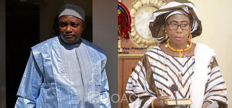 Gambie :  Covid-19, Barrow s'isole, la VP rassure sur sa santé
