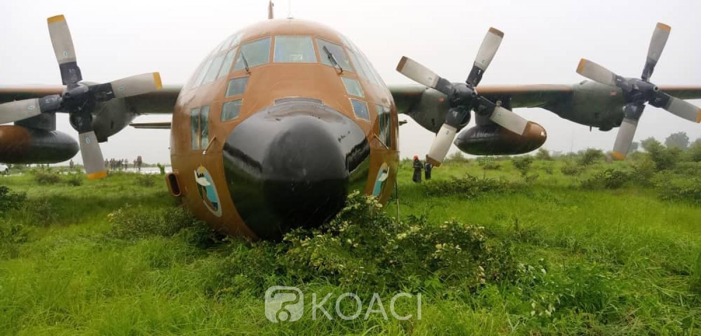 Cameroun : Un avion militaire sort de piste, des dégâts matériels enregistrés et une enquête ouverte