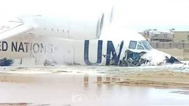 Mali : Un avion de la MINUSMA rate son atterrissage à Gao, six blessés