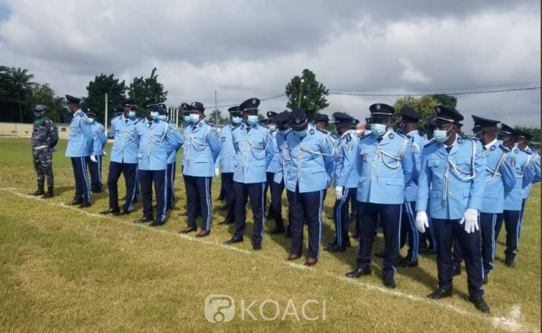 Côte d'Ivoire : Remise d'épaulettes aux Officiers, Commissaires professionnels spéciaux  et Sous-officiers, 04 recalés, les raisons