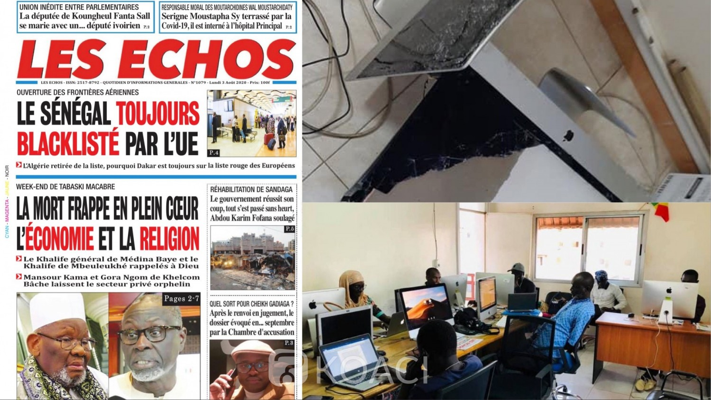 Sénégal : Coronavirus,  les partisans d'un chef religieux vandalisent le siège d'un journal