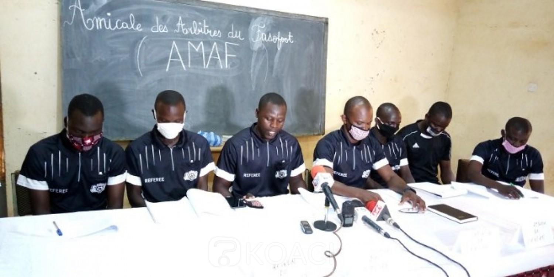 Burkina Faso : Football, les hommes en noir exigent de meilleurs traitements