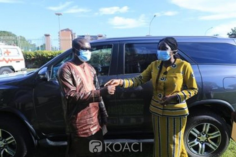 Côte d'Ivoire: Gbon, Kandia fait don d'une ambulance médicalisée à l'hôpital et un véhicule de commandement au Sous-Préfet