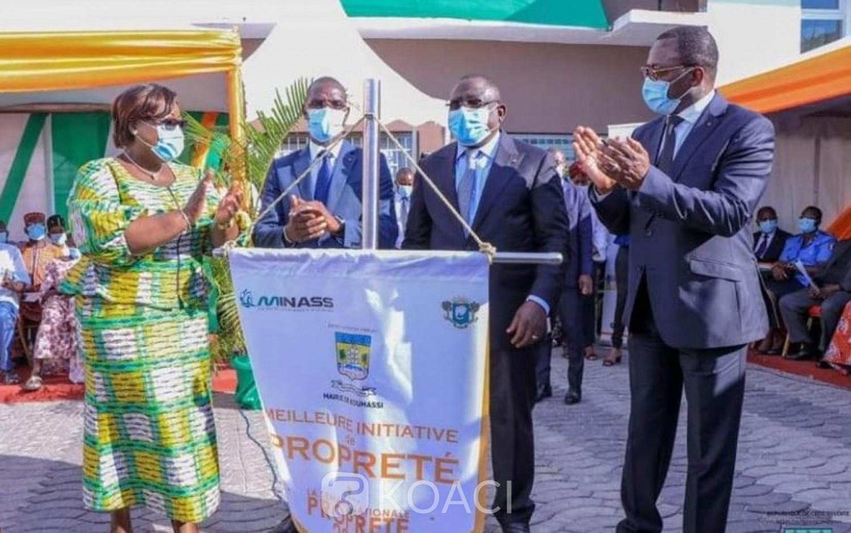 Côte d'Ivoire : Semaine Nationale de la Propreté, le maire de Koumassi élevé au rang d'Ambassadeur d'Honneur de la Salubrité