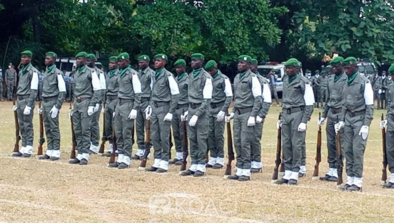 Côte d'Ivoire : Eaux et forêts, 650 agents de la Brigade spéciale de surveillance présentés au drapeau avec pour parrain Amadou Gon