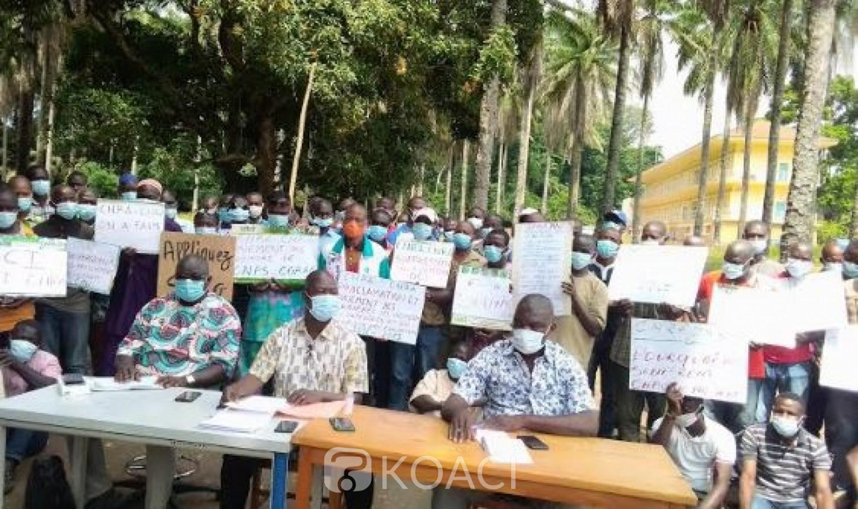 Côte d'Ivoire : CNRA, après un mois de grève, les travailleurs sous menace de chômage technique, annoncent en réplique des sit-in dans tout le pays.