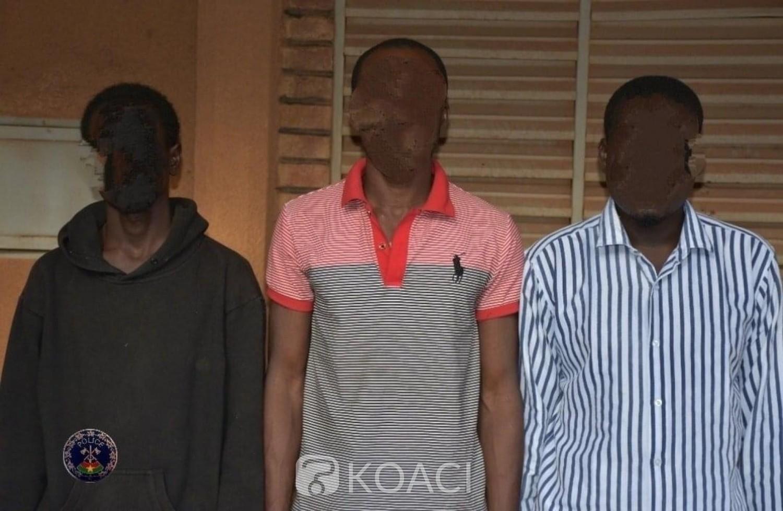 Burkina Faso : Trois individus interpellés avec 509 cartes bancaires, après avoir dérobé plus de 30 millions de francs CFA