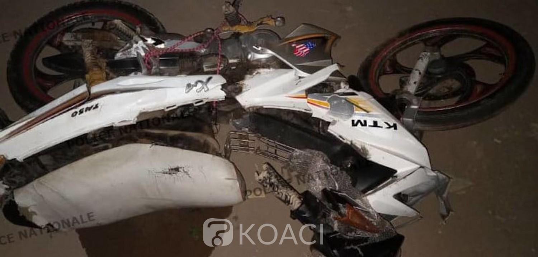 Côte d'Ivoire : Lutte contre l'insécurité, deux individus suspects à moto abattus par la police à Angré