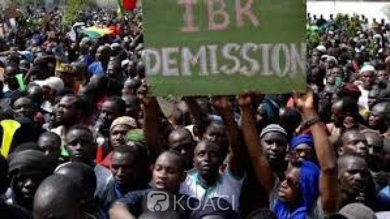 Mali : Nouvelle mobilisation du M5-RFP à Bamako pour la démission d'IBK