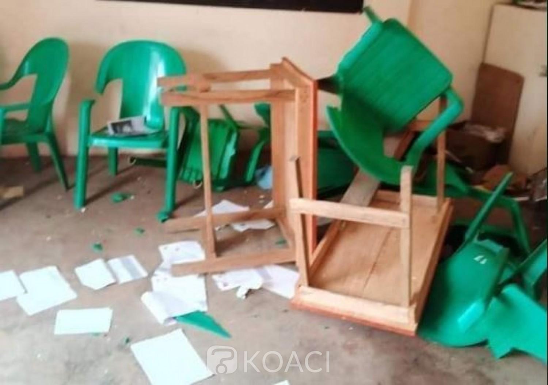 Côte d'Ivoire : Daoukro, manifestations contre la candidature de Ouattara, un mort annoncé, des magasins pillés et incendiés