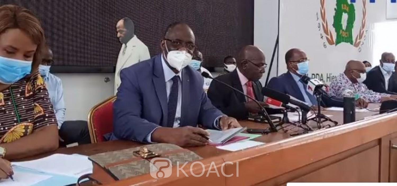 Côte d'Ivoire :  Présidentielle 2020, les groupements et partis de l'opposition exigent de Ouattara le retrait sans délai de sa candidature