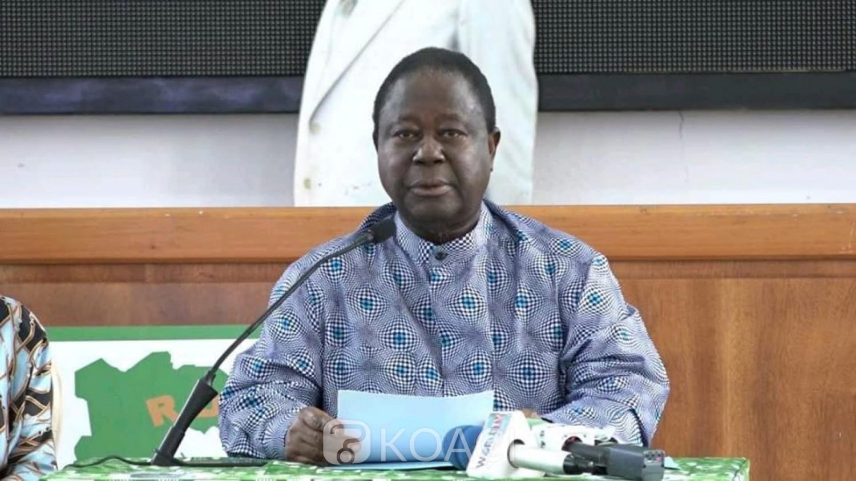 Côte d'Ivoire : Protestation à Daoukro, accusé, Bédié soutient que ce sont des manœuvres pour le Rhdp qui veut se faire passer pour les victimes