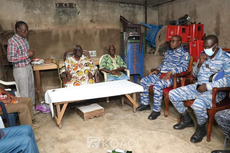 Côte d'Ivoire : Le Général Apalo réuni Malinké et Baoulé sur le terrain à Daoukro pour appeler au calme