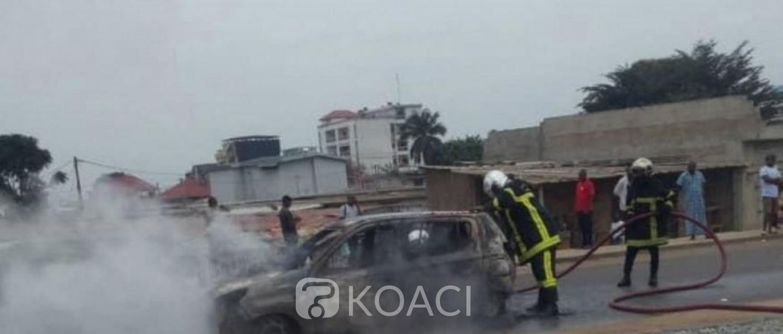 Côte d'Ivoire : À Yopougon, des manifestants incendient 3 véhicules, un interpellé