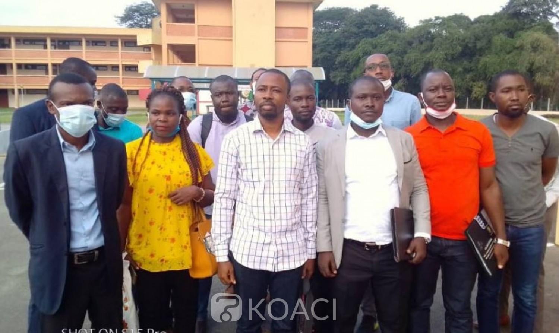 Côte d'Ivoire :  Université  FHB, les Assistants recrutés en 2019 suspendent leur sit-in après une rencontre avec Abou Karamoko qui promet le paiement des primes