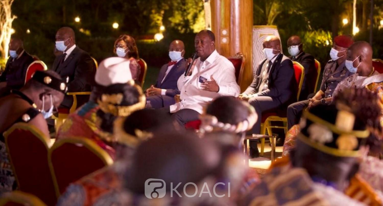 Côte d'Ivoire :  Alassane Ouattara à propos de sa candidature : « Je crois que chacun de nous a son destin. On ne peut pas fuir son destin »