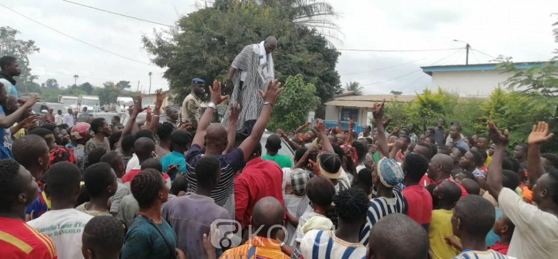 Côte d'Ivoire : Mission réussie pour Méambly à Bangolo, pas de marche et des doléances pertinentes qu'il soumettra au Premier Ministre
