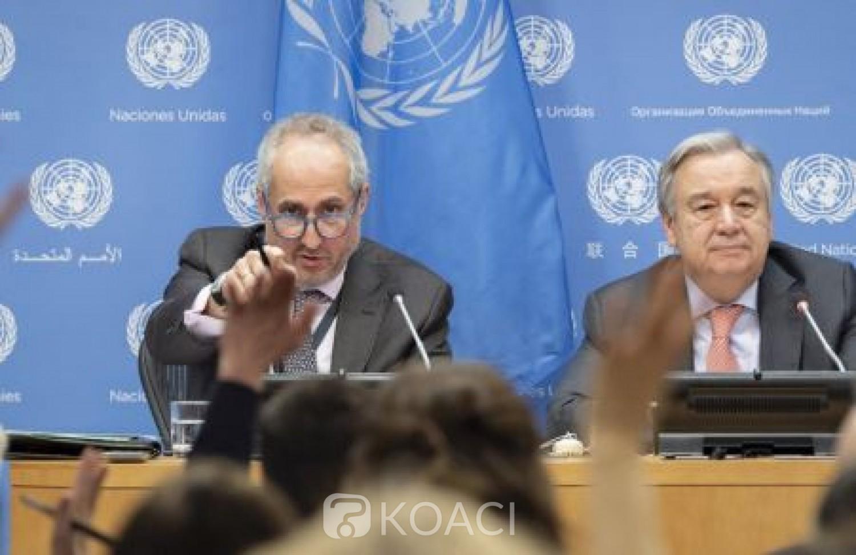 Côte d'Ivoire : Le  Secrétaire général de l'ONU serait préoccupé  par les incidents violents signalés dans le pays ces derniers jours, selon son porte-parole
