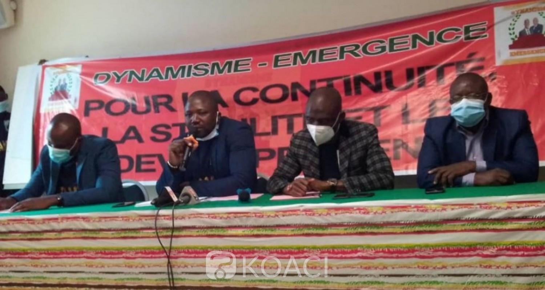 Côte d'Ivoire : En phase avec la candidature d'Ado, le mouvement Dynamisme Émergence-CI appelle la jeunesse ivoirienne à se désolidariser de tout projet de déstabilisation