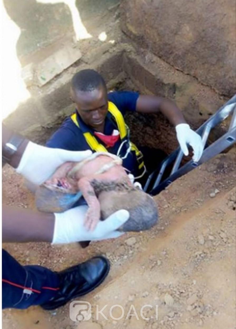 Burkina Faso : Un bébé abandonné dans des fosses sceptiques sauvé in extremis