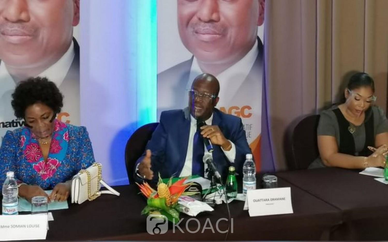 Côte d'Ivoire : Suite au décès de son mentor, Alternatif AGC opte pour son « père » et appelle à élire le Président Ouattara