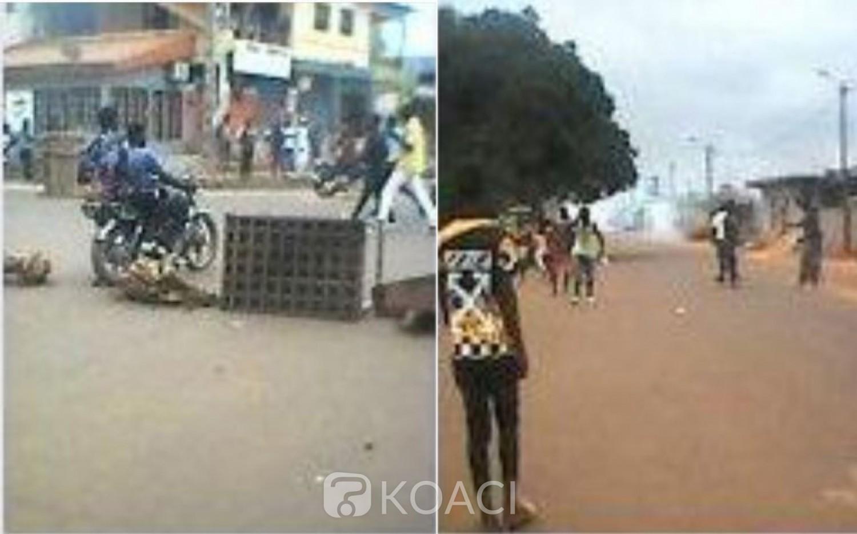 Côte d'Ivoire : Des jeunes provoquent les forces de l'ordre à Niablé, attente de retour au calme des habitants