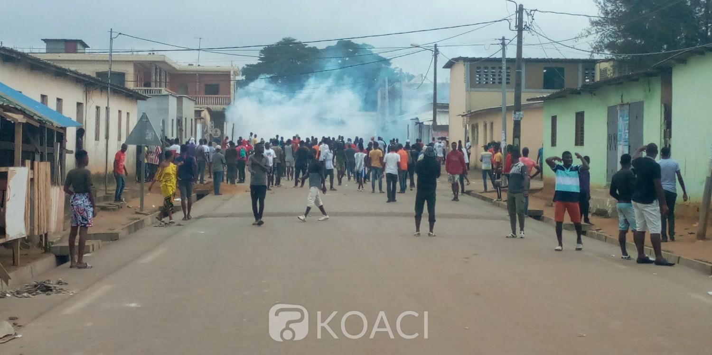 Côte d'Ivoire : Marches éclatées, course-poursuite entre policiers et manifestants dans certains quartiers de Yopougon