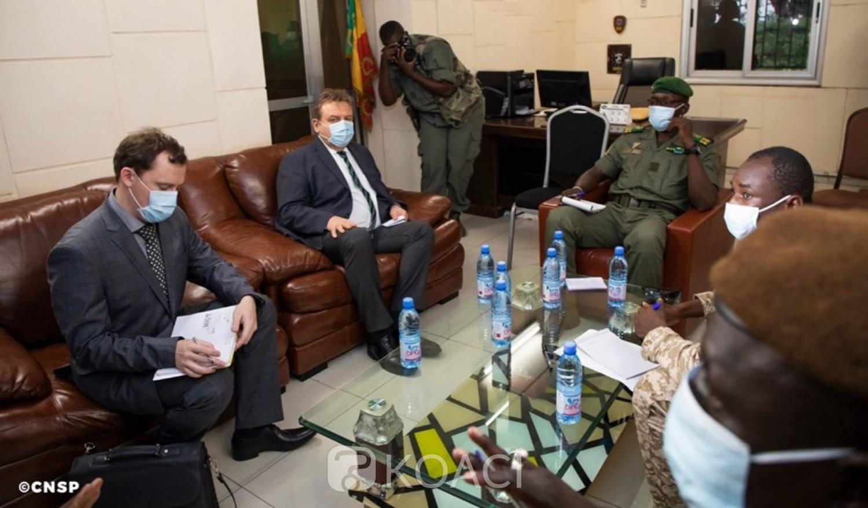 Mali:  Après la Minusma, la junte militaire reçoit l'ambassadeur de la Russie à Kati