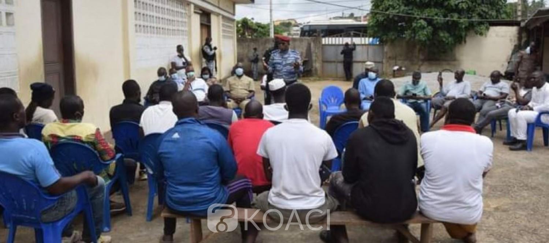 Côte d'Ivoire : Bonoua, Apalo en mission de paix, les belligérants vont sillonner la ville pour appeler à l'apaisement