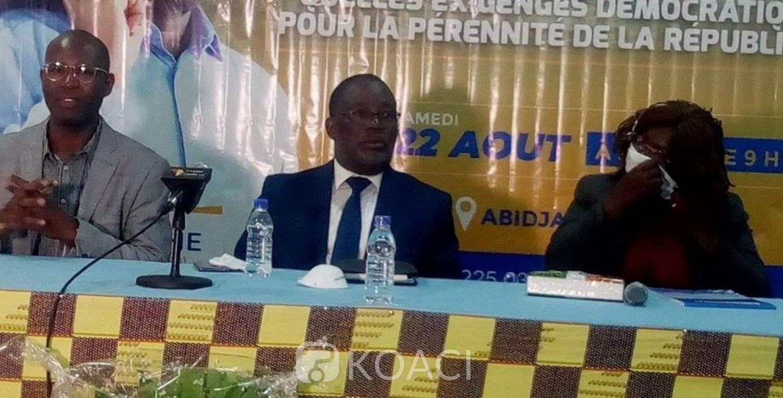 Côte d'Ivoire : En exil, l'ex-ministre Eric Kahé choisit Laurent Gbagbo comme le candidat de son Parti