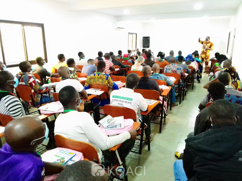 Côte d'Ivoire : Sakassou, pour leur essor dans l'agriculture, des OPA formés