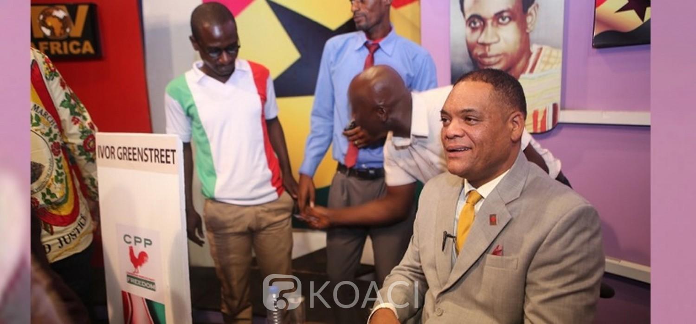 Ghana :  Présidentielle 2020, Ivor Greenstreet élu candidat du CPP