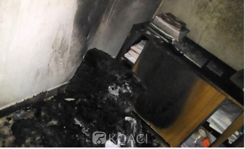 Côte d'Ivoire : Fresco, des individus non identifiés incendient des locaux de la Mairie, d'importants dégâts matériels