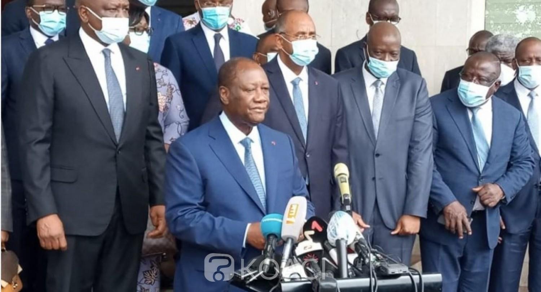 Côte d'Ivoire : Présidentielle d'octobre, après un week end de folie populaire, Alassane Ouattara dépose sa candidature et annonce les couleurs de la sagesse