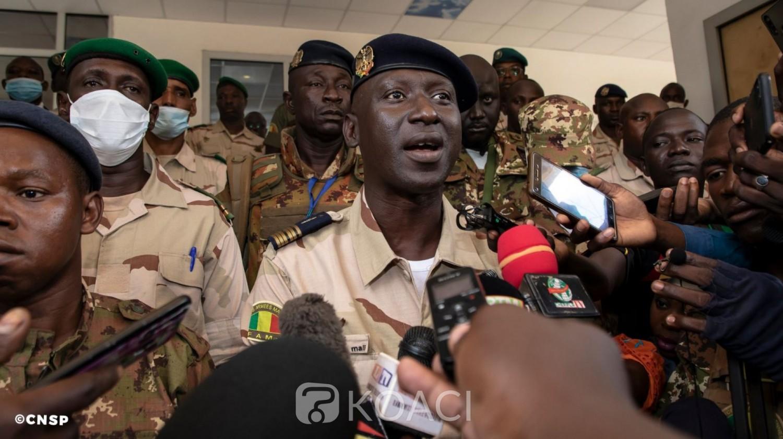 Mali-CEDEAO : La junte militaire dément le refus de transférer le pouvoir aux civils et rappelle que les négociations se feront entre maliens