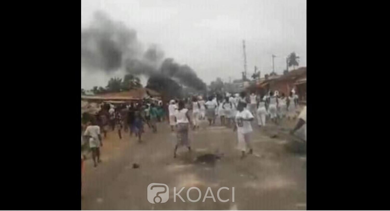 Côte d'Ivoire : Manifestations de rue, après 72 heures, le couvre-feu levé à N'douci