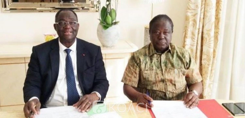 Côte d'Ivoire : Présidentielle 2020, après  la présentation en interne du projet de gouvernance de Bédié, Guikahué : « C'est le Pdci qui a fait le miracle ivoirien »