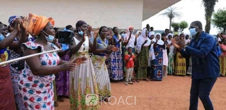 Côte d'Ivoire : San-Pédro, pour la victoire du candidat ADO, Félix Anoblé invite les femmes « à faire un choix lucide »