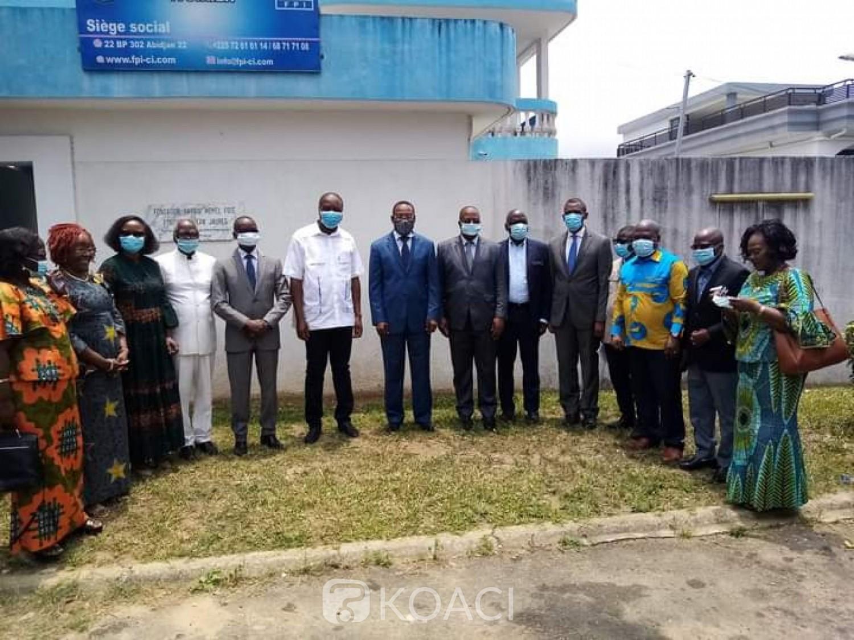 Côte d'Ivoire : Désormais dans l'opposition, Mabri chez Affi, appelle à l'union  pour battre le parti au pouvoir